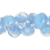 Lamp Bead Teardrop 50pc 10mm Maya Blue